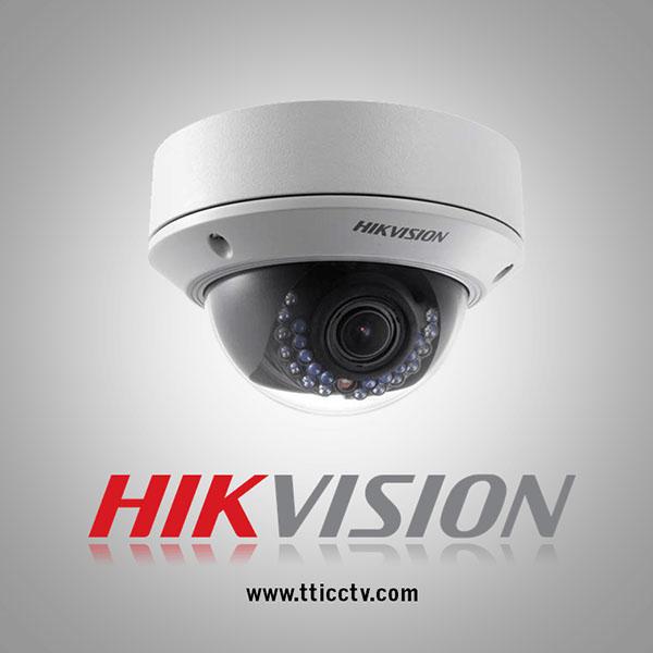 دوربین مداربسته شبکه دام وریفوکال دید در شب هایک ویژن hikvision