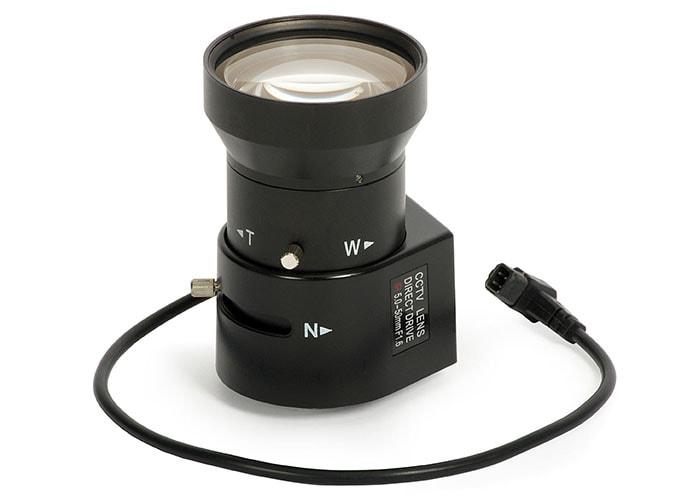 لنز وریفوکال دوربین مداربسته