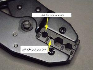 آموزش زدن فیش BNC در دوربین مدار بسته