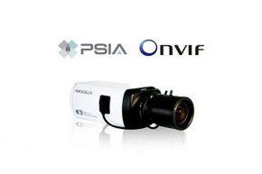استاندارد PSIA دوربین مدار بسته