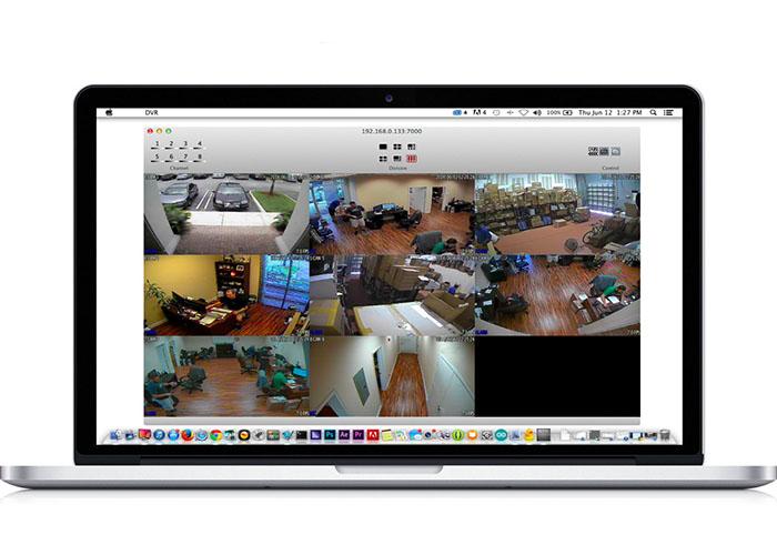 انتقال تصویر دوربین مداربسته روی کامپیوتر