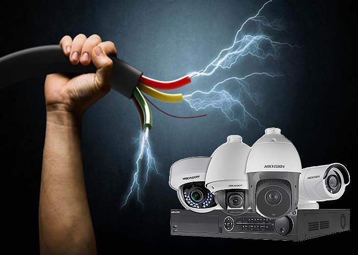 محافظ نوسان برق دوربین مداربسته