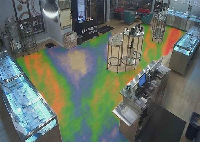 تکنولوژی نقشه گرمایی Heat Map در دوربین مدار بسته چیست؟
