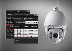 آشنایی با نحوه تنظیماتPRESET در دوربین های مداربسته گردان