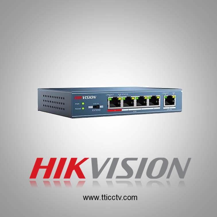 فروش سوئیچ شبکه DS-3E0105P-E هایک ویژن