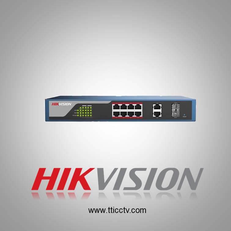فروش سوئیچ شبکه DS-3E1310P-E هایک ویژن